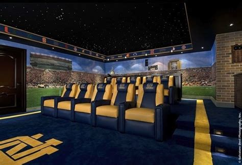 Football Room Decor by Best Home Theater Systems Create An Amazing Home Theater