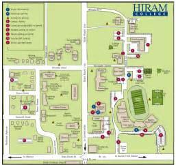 hiram college map