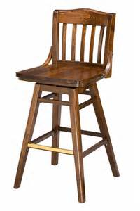 commercial wood bar stools regal seating series 454 commercial wooden swivel bar