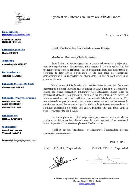 Modèle De Lettre De Présentation Word resume format lettre de pr 233 sentation cv hopital