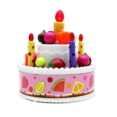 Mainan Kue Potong Ulang Tahun mainan kue ulang tahun singing cake 6001