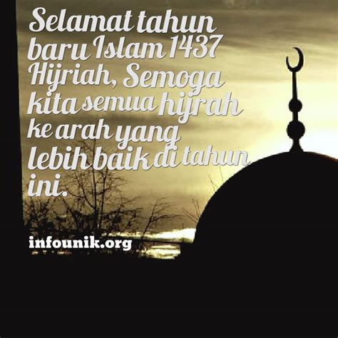 gambar dp bbm kata ucapan selamat tahun baru islam 1437 h 2015