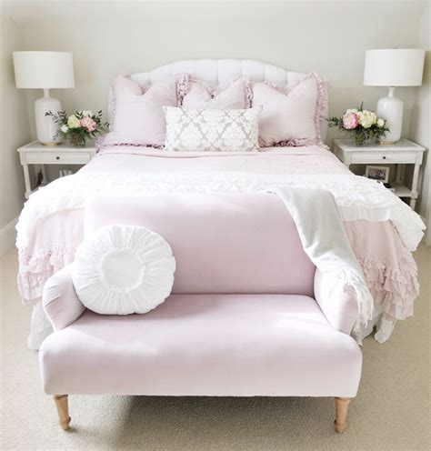 the guest room pink peonies by rach parcell