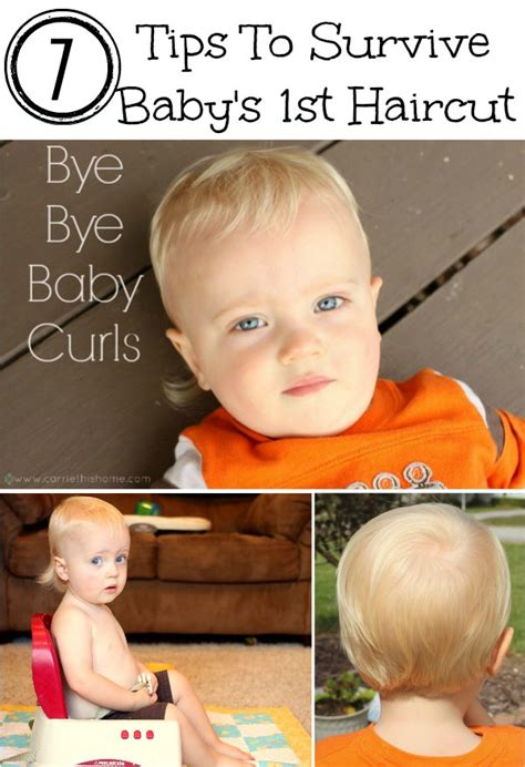 tips for haircuts at home tips to survive baby s first haircut