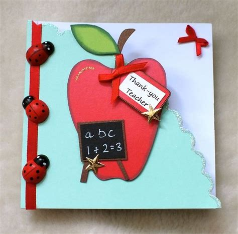 Handmade Birthday Cards For Teachers - 120 best images about thank you on