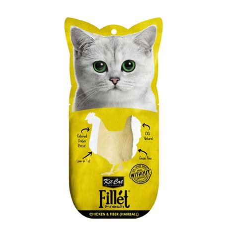 Sale Cat Snack Kitcat Fillet Tuna Smoked Fish 30gr kit cat fillet fresh chicken and fiber hairball kitcat