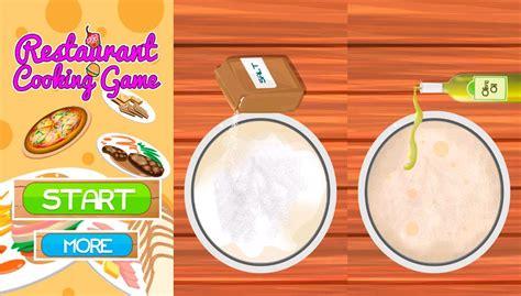 juegos de cocina en restaurantes los 8 mejores juegos de cocina android