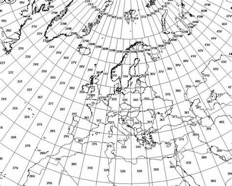 utm map utm mgrs atlas florae europaeae luomus