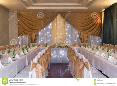 about decoration wedding hall with decoration stock photo image 28635262