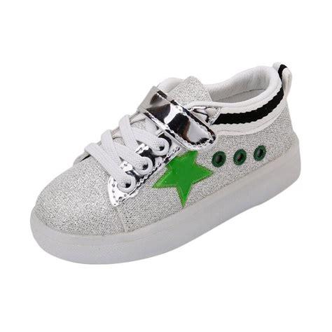 Sepatu Hijau jual chloebabyshop sepatu anak lu glitter hijau