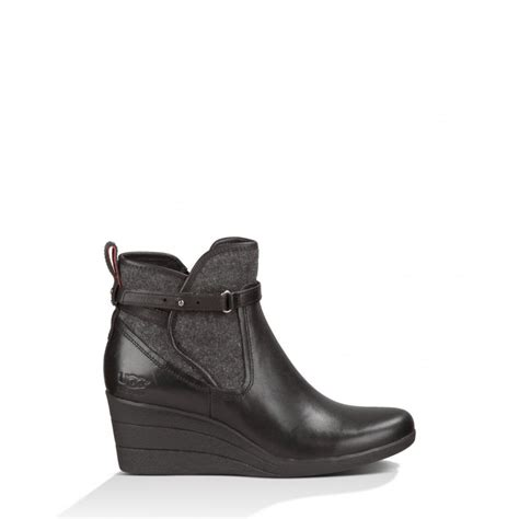 Wedge Ankle Boots womens emalie wedge ankle boot footwear from nicholls