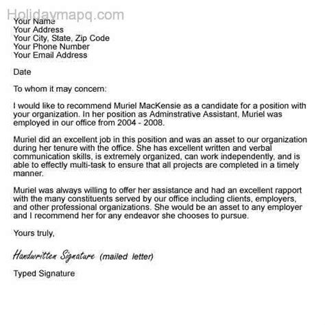 Reference Letter Social Worker Recomendation Letter Template Map Travel