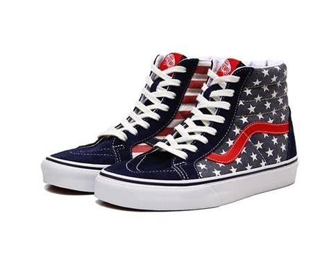 Sneaker Sepatu Vans Shoes Motif America Casual Mearah Putih Import 1 nest learning thermostat 3rd generation t3007es new american flag flags and stripes
