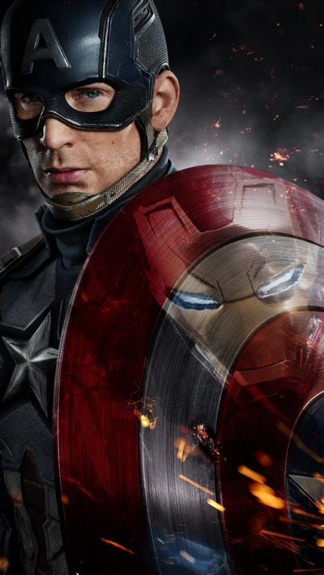 captain america iron man fight iphone wallpaper