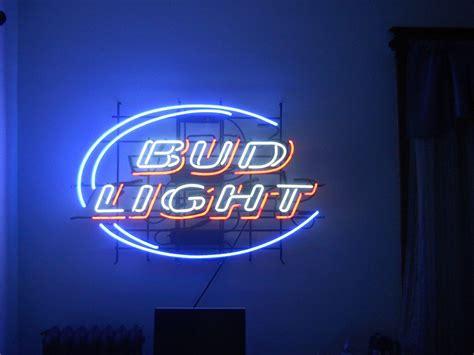 bud light bar signs bud light real glass neon light sign home beer bar pub