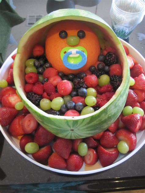 baby bassinet fruit tray for baby shower baby shower fruit tray ideas pinterest baby