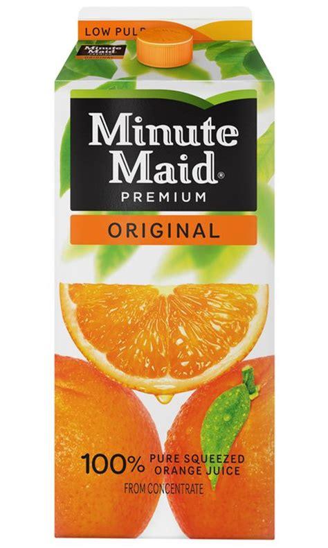 Promo Madkong Juice Berkualitas New Minute Orange Juice Coupon Frugal Living Nw