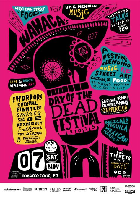 design love fest day of the dead the horrors crystal fighters and more announced for day