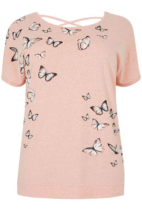 t shirt avec papillons la 231 age dans le dos taille
