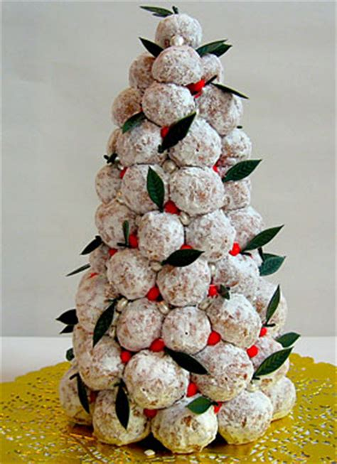doughnut hole croquembouche recipe epicurious com