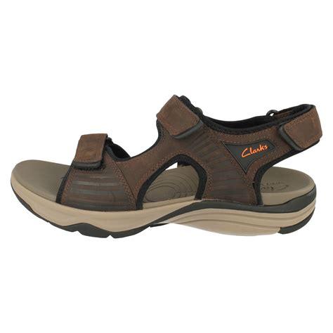 Sandal Flat Wave s clarks sport leather sandals wave leap ebay