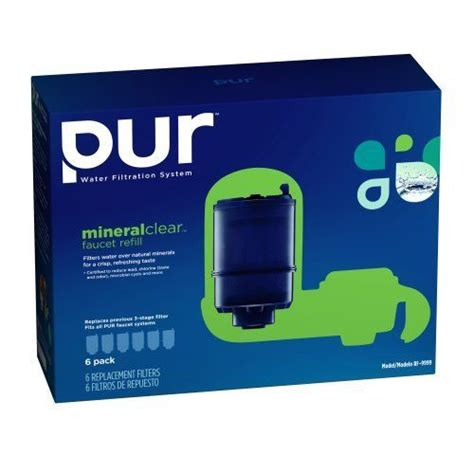 Pur Mineralclear Faucet Refill Rf 9999 Pur Mineralclear Faucet Refill Rf 9999 6 Pack By Pur