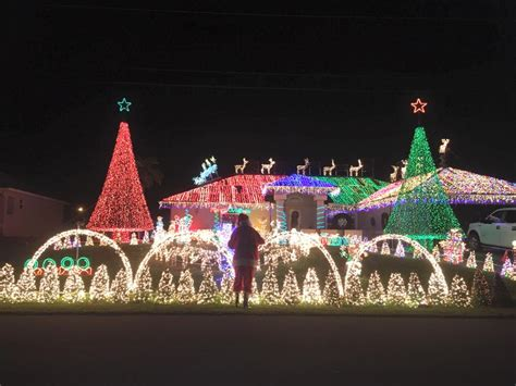 2017 christmas light display at planet monkman in cape coral