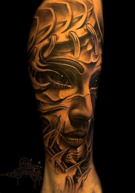 tattoo ink used superb shading and detail love the use of white ink here