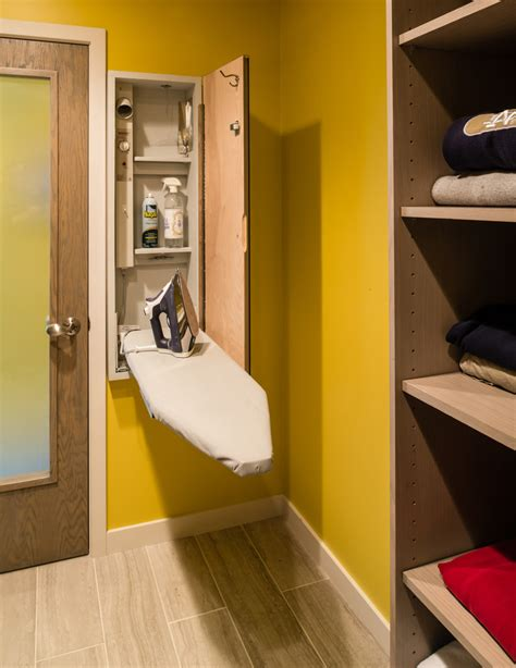 the iron room iron wall shelf laundry room contemporary with built in cabinets doorway beeyoutifullife