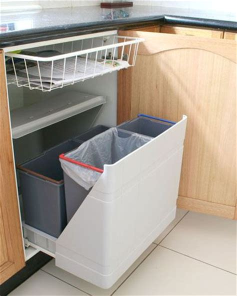 kitchen bin ideas multi bin system to sort recyclables i really like the pull out drawer thing storage and