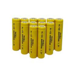 solar lights rechargeable batteries 12pcs aaa nicd rechargeable battery 400mah 1 2v for solar