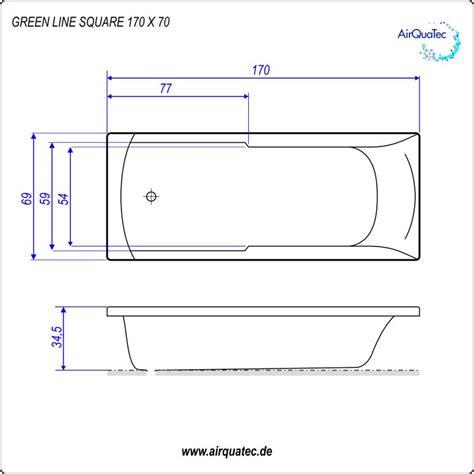 badewannen abmessungen flache badewanne rechteckwanne greenline wassersparen