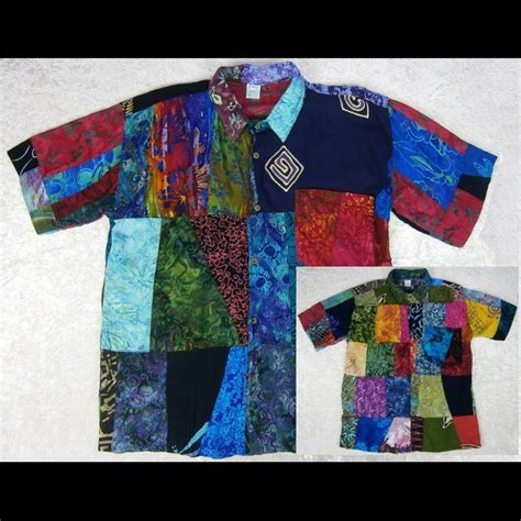Patchwork Shirt - wholesale patchwork s shirt