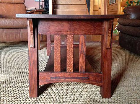 style coffee table end tables logan wood works mission style oak coffee and end tables