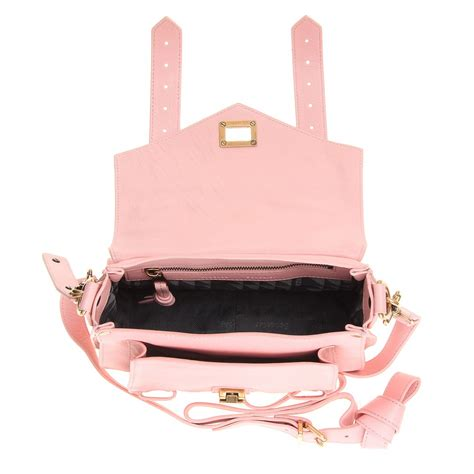 Proenza Pink by Proenza Schouler Ps1 Pouch Leather Shoulder Bag In Pink Lyst