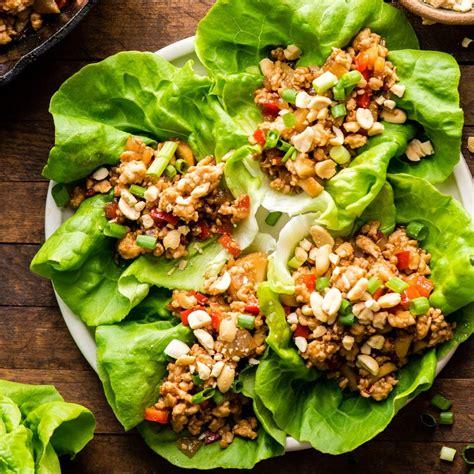 asian chicken lettuce wraps   pf changs