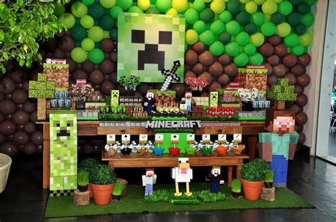 theme google minecraft festa minecraft pesquisa google kids birthday parties