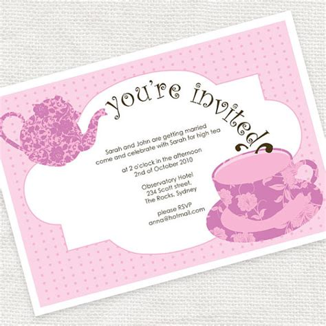 Bridal Shower Timing by Items Similar To Tea Time Bridal Shower High Tea