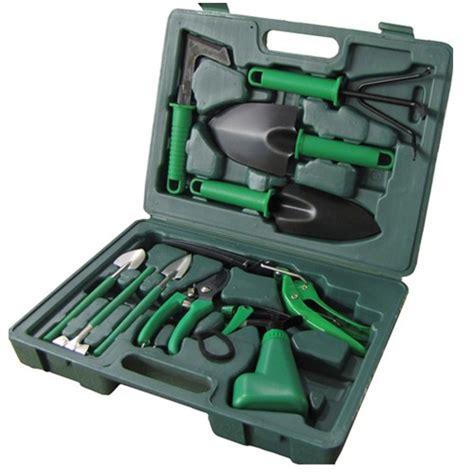 Garden Tool Set gearxs 10 garden tool set w handy carry ebay