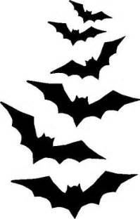 free halloween stencil bat bats stencils and halloween