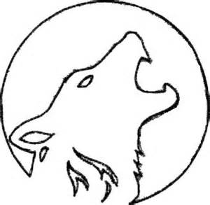 Wolf Stencil Template by W 246 Lfe K 252 Rbisse And Schnitzen On