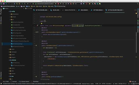 color themes intellij material theme ui jetbrains plugin repository