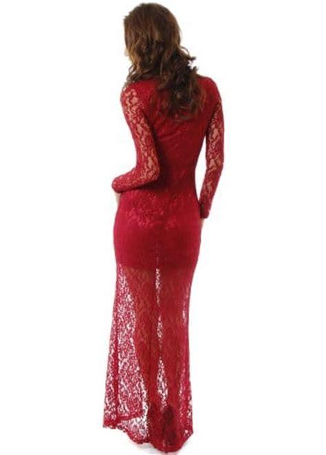 Maxi Vera Maroon vera burgundy lace maxi dress lace evening dress