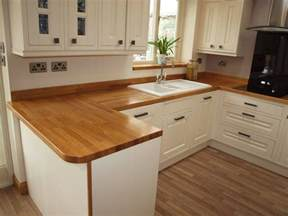 wooden work surfaces feature in our new customer kitchens