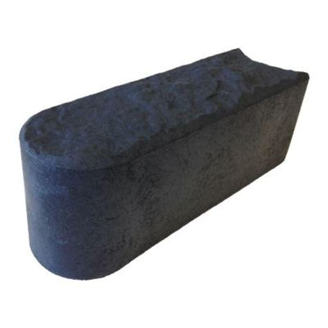 multy home 12 in x 4 in slate stomp rubber edge 6 pack
