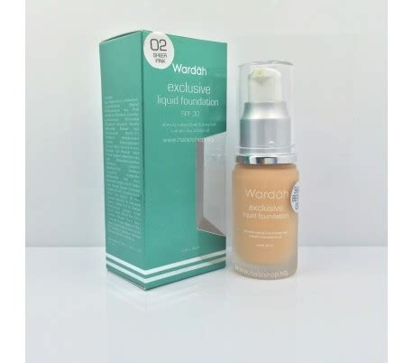 Bedak Tabur Wardah Sheer Pink Halal Cosmetics Singapore Exclusive Liquid Foundation