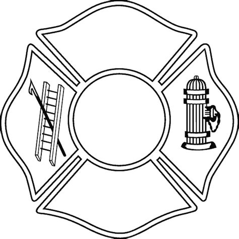 the gallery for gt firefighter maltese cross template