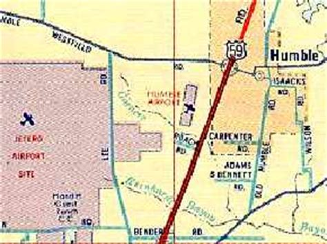map of humble texas abandoned known airfields texas northeastern houston area