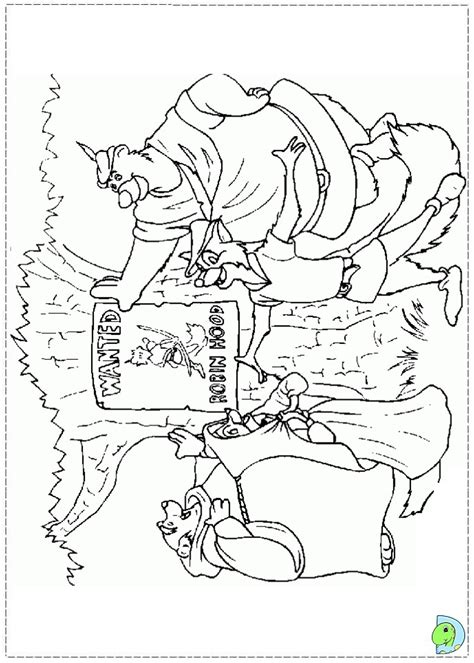 coloring pages robin hood disney free coloring pages of robin hood pic