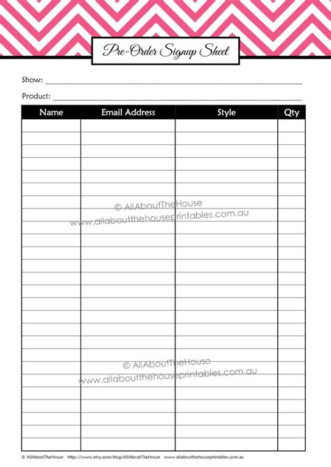 mailing list sign up sheet template create a signup email how